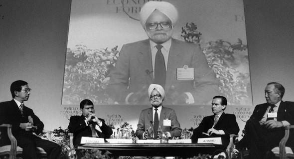 Министр финансов Индии (1991-1996) Манмохан Сингх
