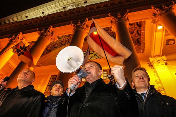 Митинг в Минске за честные выборы 24 ноября 2010 года (выборы прошли 19 декабря)