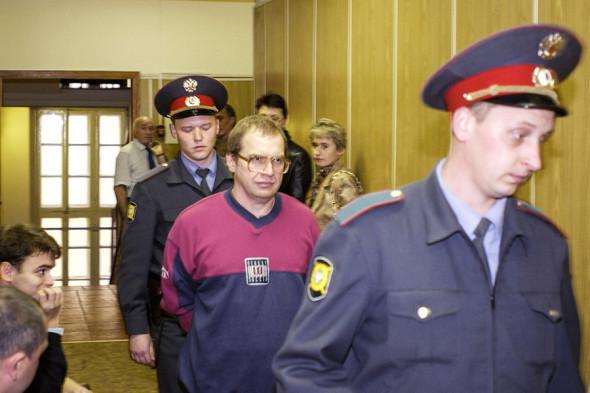 Мавроди во время слушаний в Хамовническом суде столицы в октябре 2003 года