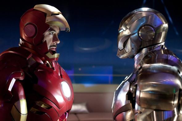 Фото:Кадр из фильма «Железный человек 2»