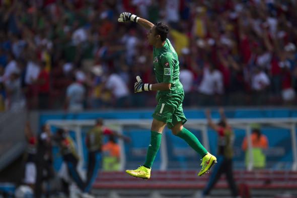 Коста-Рика, 2-е место в турнире Северной и Центральной Америки и Карибского бассейна
