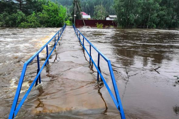Река Китой, поселок Раздолье