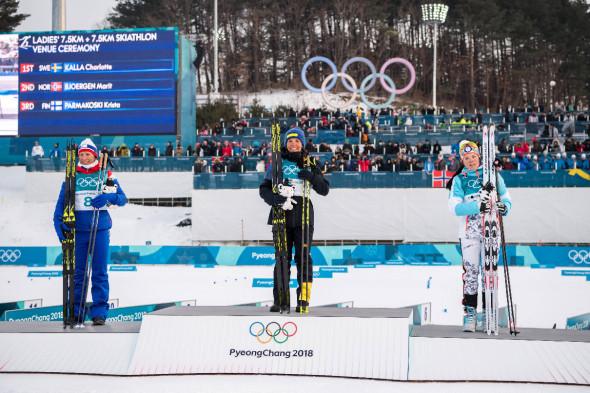 Скиатлон, женщины, 15 км