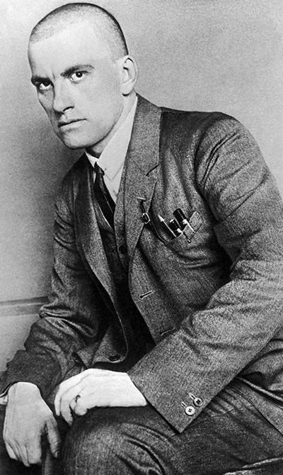 Владимир Маяковский, 1924 г.