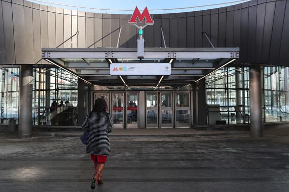 Станция ЦСКА