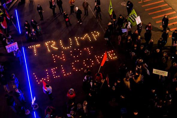 Протесты в Лозанне
