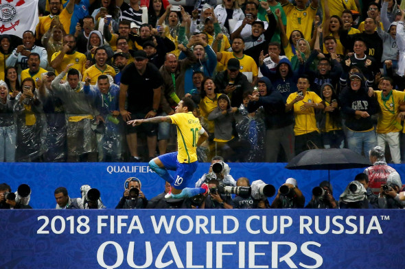 Бразилия, 1-е место в южноамериканском турнире