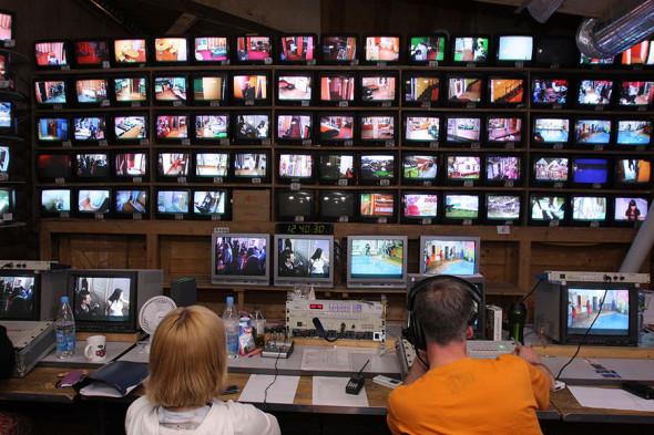 Аппаратная студия реалити шоу «Дом-2», 2010 год