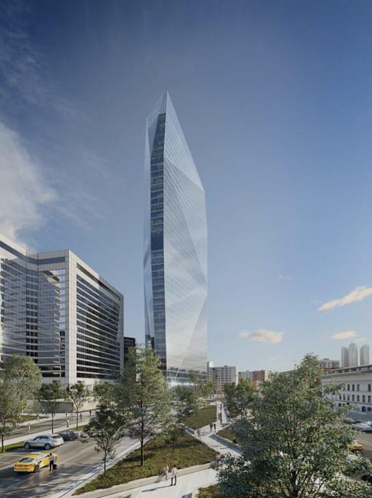 Проект третьей очереди строительства Центра международной торговли (ЦМТ) на Краснопресненской набережной