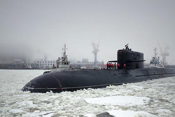 Подводная лодка «Подмосковье» проекта 667БДРМ «Дельфин»