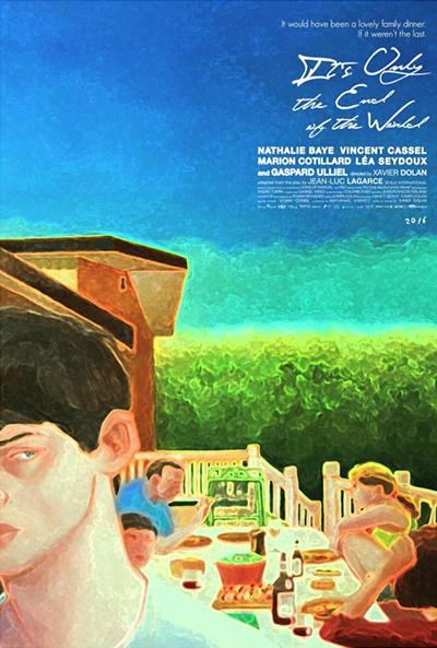 Постер к фильму «Это всего лишь конец света»