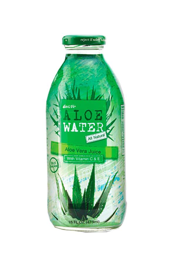 Вода с алое