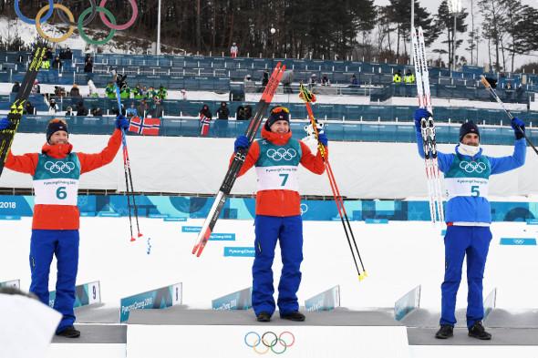 Скиатлон, мужчины, 30 км
