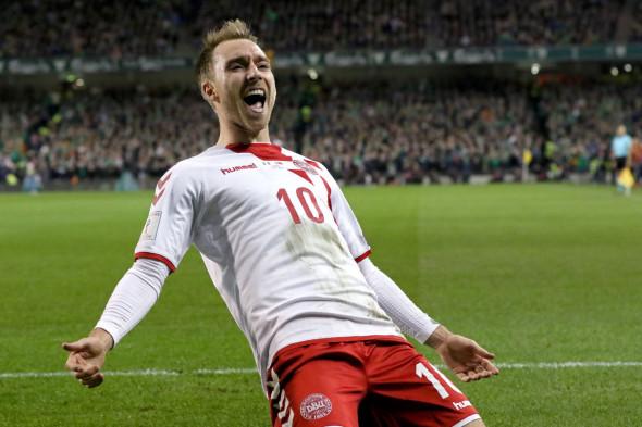 Дания, победа в стыковых матчах европейского турнира