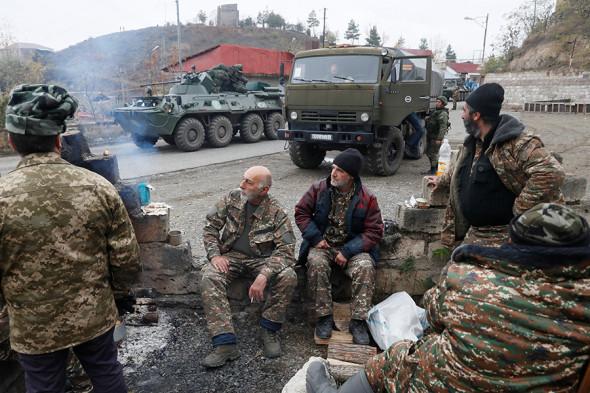Российские миротворцы в Нагорном Карабахе. Фоторепортаж :: Общество :: РБК