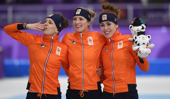 Конькобежный спорт, женщины, 3000 метров