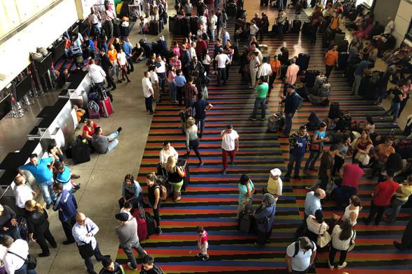 Международный аэропорт имени Симона Боливара в Каракасе