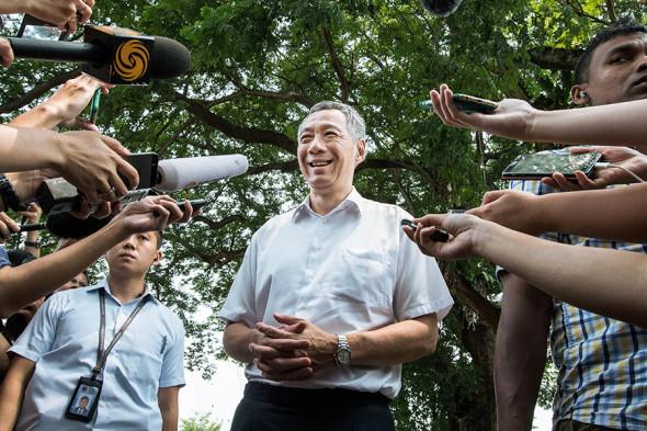 Фото: Nicky Loh / Bloomberg