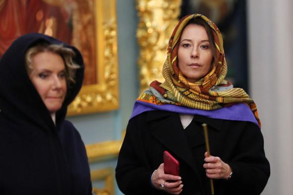 Слева направо: руководитель протокола премьера-министра Марина Ентальцева и его пресс-секретарь Наталья Тимакова