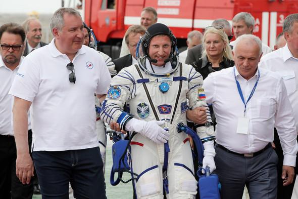 Космонавт «Роскосмоса» Сергей Прокопьев