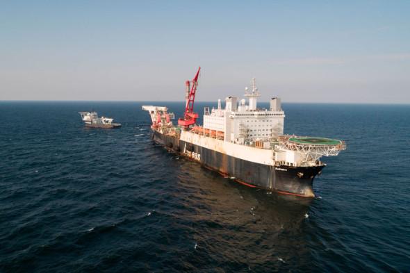 Фото:Thomas Eugster / Nord Stream 2