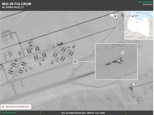 США обвинили Россию в переброске боевой авиации в Ливию