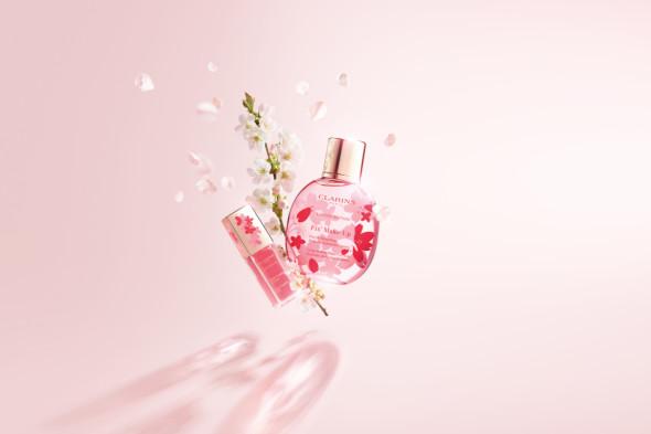 Весенняя коллекция макияжа Sakura, Clarins