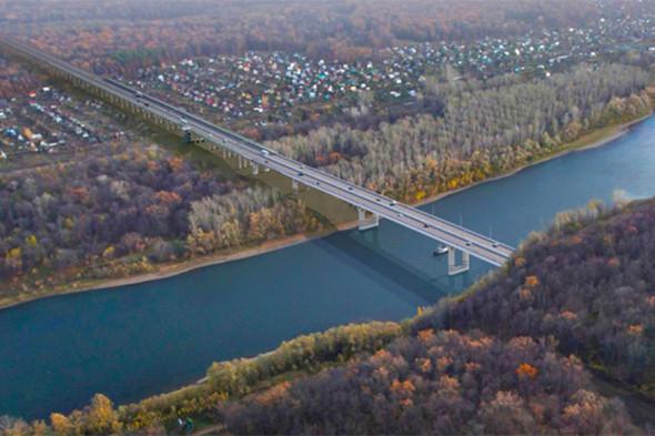 Проект моста через реку Уфу