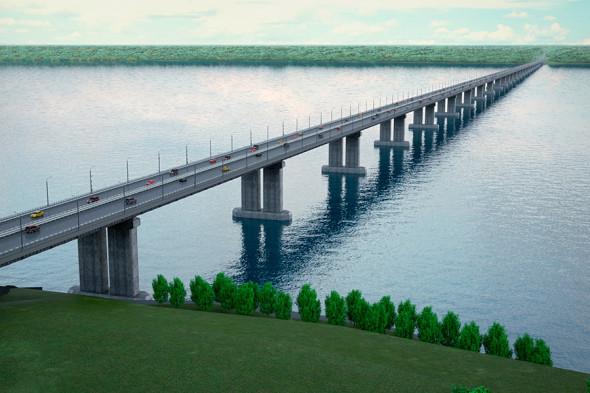 Проект моста через Волгу