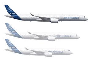 Новый самолет на7м длиннее ивмещает на40 пассажиров больше, чемA350-900