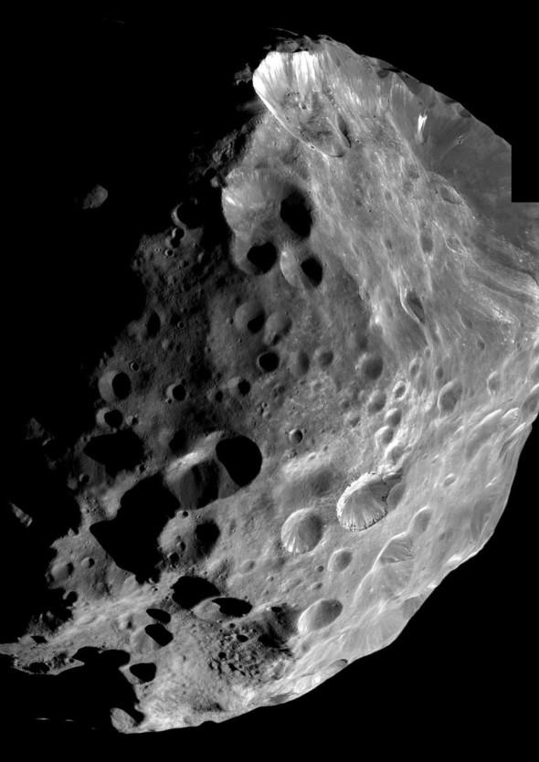 найдутся феба спутник сатурна фото такой замечательный