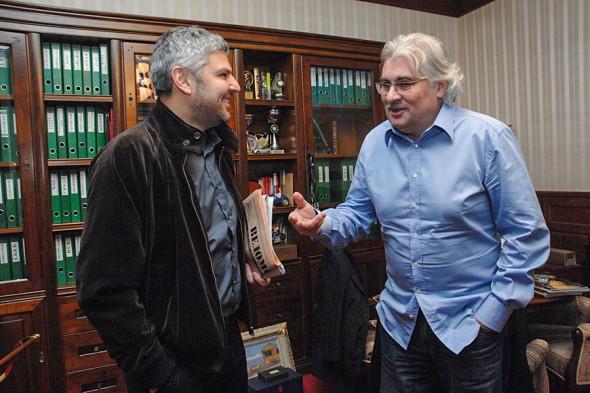 Николай (слева) и Сергей Саркисовы