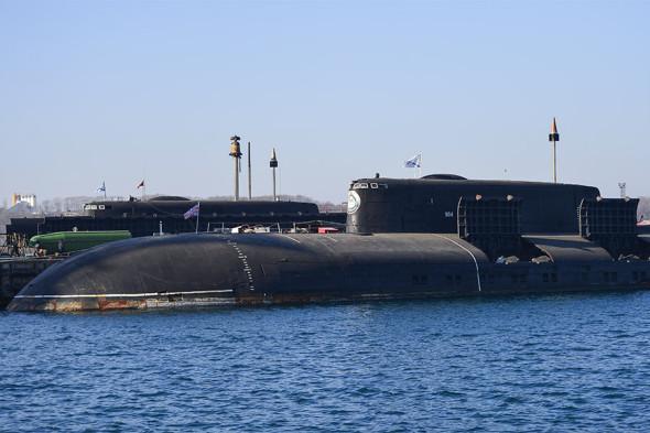Подводный ракетоносец проекта 949А «Антей»