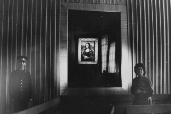 Ирина Антонова и «Джоконда» Леонардо да Винчи в Пушкинском музее, 1974 год