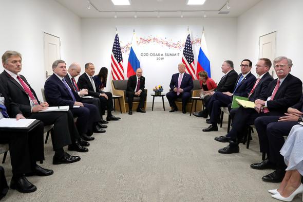 Фото: Sputnik / Mikhail Klimentyev / Kremlin via Reuters