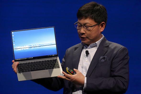 Глава Huawei Consumer Business Group Ричард Ю