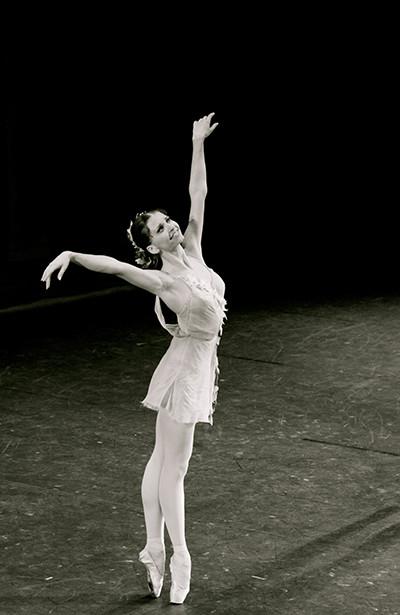 Солистка балета Большого театра Анна Тихомирова