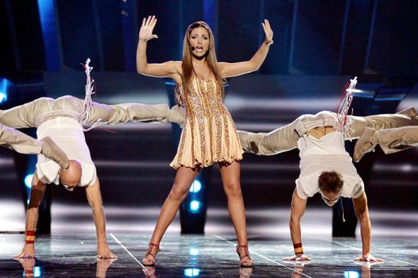 Победитель «Евровидения-2005» Елена Папаризу (Греция)