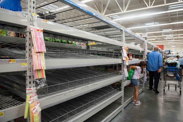 Магазин Walmart в городе Форт-Лодердейл