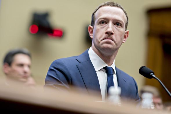 Марк Цукерберг, основатель Facebook.