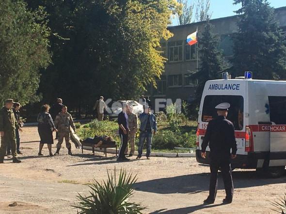 Массовое убийство в Керченском колледже, вывоз пострадавших организован скандально плохо