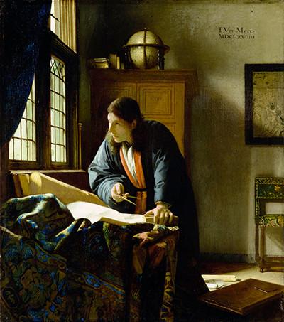 Йоханнес Вермеер. «Географ»