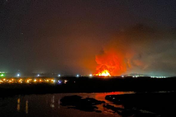 Фото - Бунт у російській колонії продовжився підпалом, горіли 30 тисяч м²