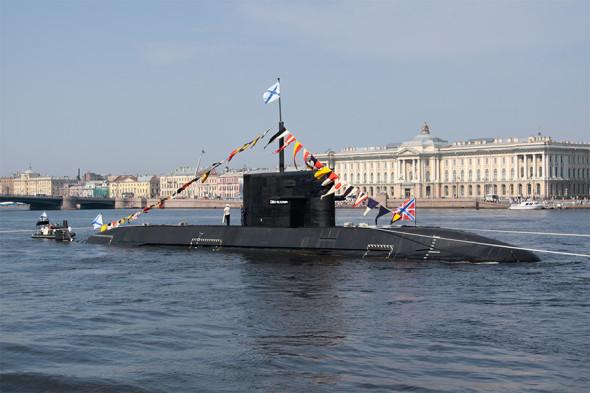 Головной корабль  «Санкт-Петербург»