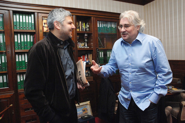 Братья Николай и Сергей Саркисовы
