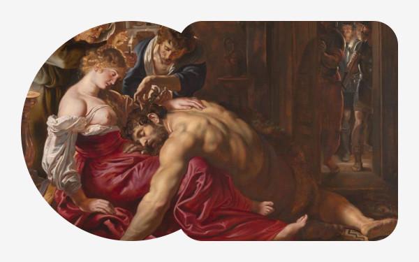 Картина Рубенса «Самсон и Далила», принадлежащая Национальной галерее в Лондоне