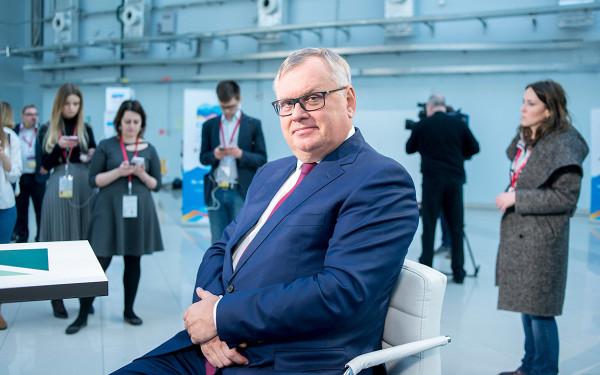 Президент-председатель правления ВТБ Андрей Костин
