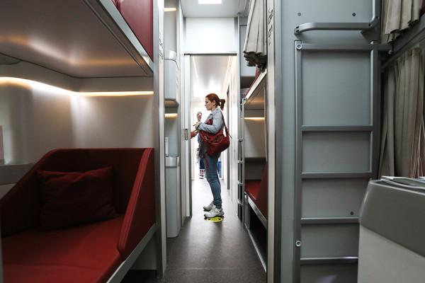 Пассажирские вагоны могут стать капсульными. Фоторепортаж
