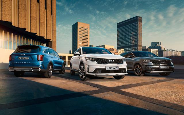 Kia объявила цены на обновленный Sorento для России