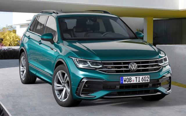 Обновленный Volkswagen Tiguan: светодиоды в базе и 320 сил в топе